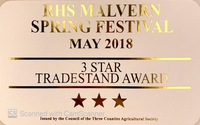 RHS MALVERN SPRING FESTIVAL - TRADESTAND AWARDS